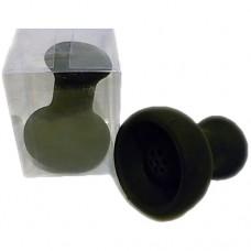 №2558 Чаша силиконовая чёрная