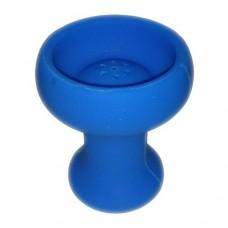 №2558 Чаша силиконовая синяя