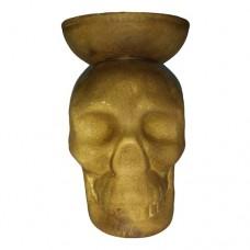Чаша глиняная Череп