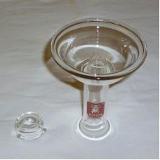 Чаша внешняя стеклянная Kaya с колпачком