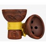 Japona Hookah Turkish Bowl Yellow (Япона Хука Турка Желтая)