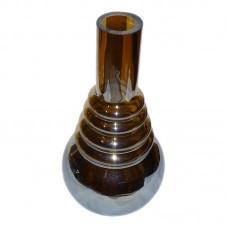 №2652 Колба для кальяна коричневая
