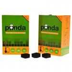 Уголь для кальяна Panda Green 1 кг 120 шт